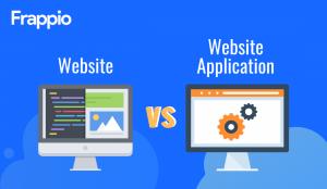 Website vs Website Application